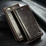 Luxury Magnetic Flip Holder Wallet Leather Phone Case For Samsung Series