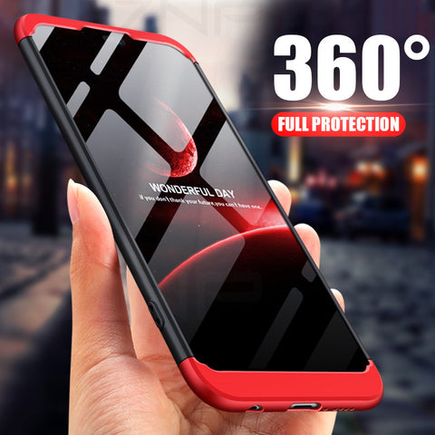 360 Degree PC Matte Protective Phone Case For Huawei P20 Pro P20 Lite Full Cover - Smart Shopping Shop