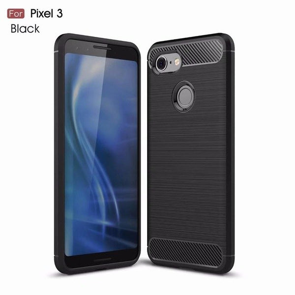 Cases Carbon Cases For Google Pixel 3, Google Pixel 3 XL - Smart Shopping Shop