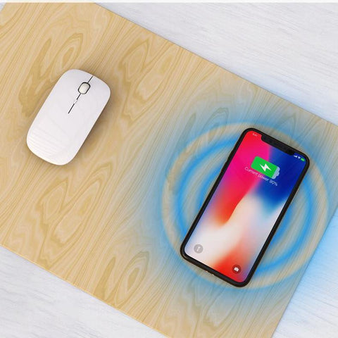 Wireless Mouse Pad Charger Power Bank 20000 mAh