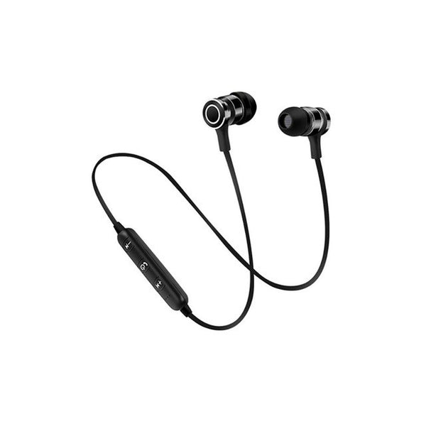 Bluetooth Earphone Wireless Headphone Metal Sports For Universal Devices
