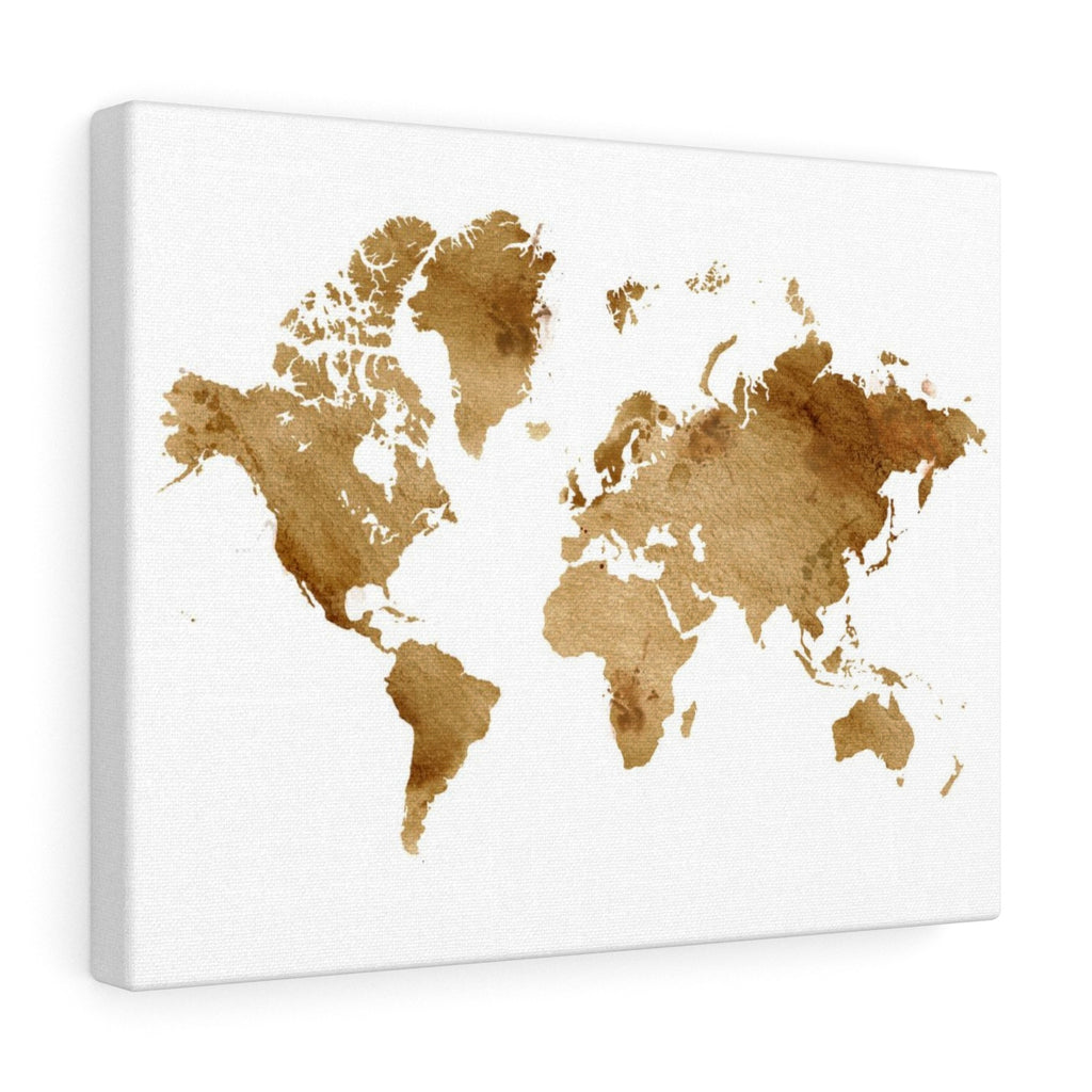 Watercolor World - Gold
