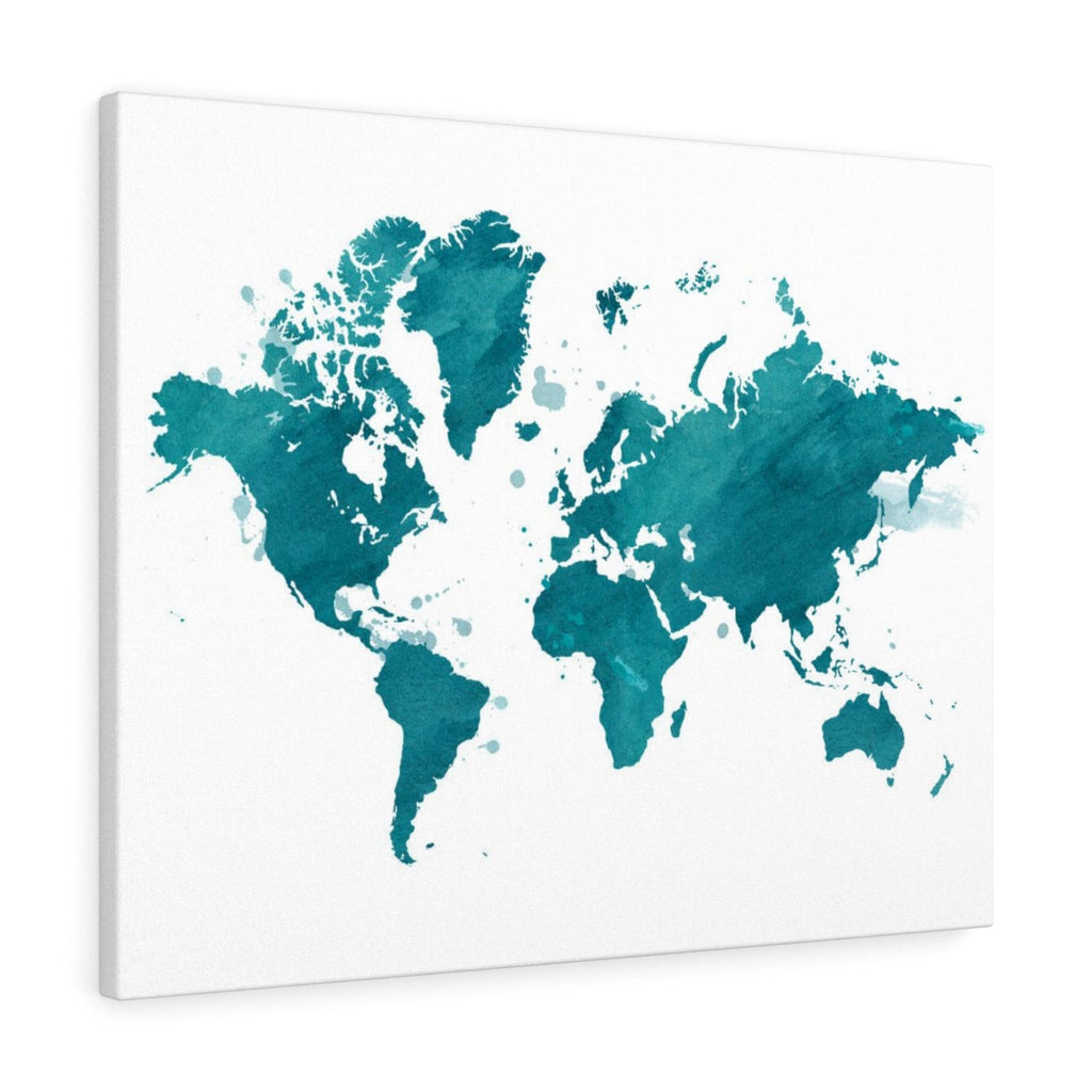 Watercolor World - Turquoise
