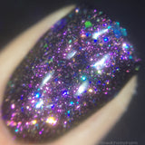 Luck Dragon Nail Polish - iridescent glitter top coat