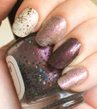 Clearance: Reverse the Polarity Nail Polish - color shifting cosmic blend - Fanchromatic Nails