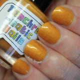 Lasso of Truth Nail Polish - goldenrod yellow shimmer - Fanchromatic Nails