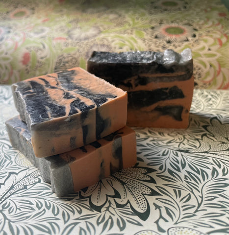 Artisan Bar Soap - Chivalry In Space - Fanchromatic Nails
