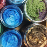 Emulsified Sugar Scrub - exfoliates & moisturizes at the same time! - Fanchromatic Nails