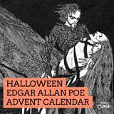 Halloween Edgar Allan Poe Advent Calendar - Fanchromatic Nails