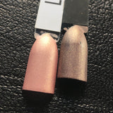 Little Girl Lost Nail Polish - matte rose gold metallic - Fanchromatic Nails
