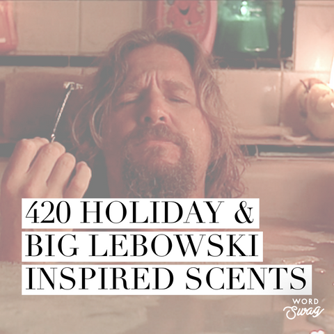 420 Holiday & Big Lebowski Inspired Rinse-Free Hand Cleanser - The Dude Abides & Goldbricker - Fanchromatic Nails