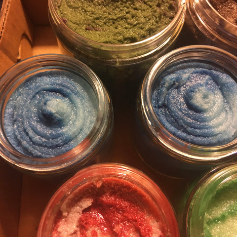 Emulsified Sugar Scrub - Big Damn Heroes Scents - Fanchromatic Nails