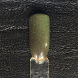 This Is the Way Nail Polish - color-changing army green to fern green - Fanchromatic Nails