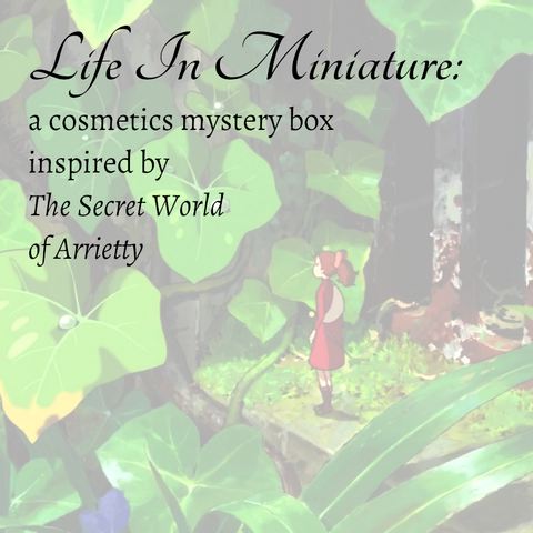 Spring Mystery Box - Life In Miniature - Borrowers & Arrietty Inspired! - Fanchromatic Nails