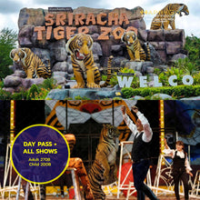 Load image into Gallery viewer, Sri Racha Tiger Zoo Pattaya