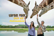 Load image into Gallery viewer, Kanchanaburi Safari Park Open Zoo & Camp (Admission Ticket)