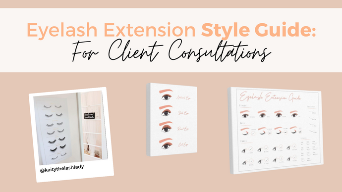 Eyelash Extension Style Guide: Functional Wall Decor