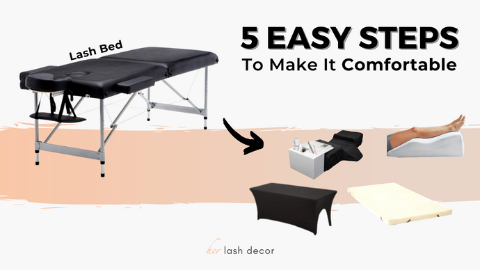 The Most Comfortable Massage Table for Eyelash Extensions