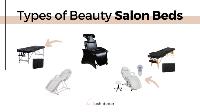 Types of Salon Beds