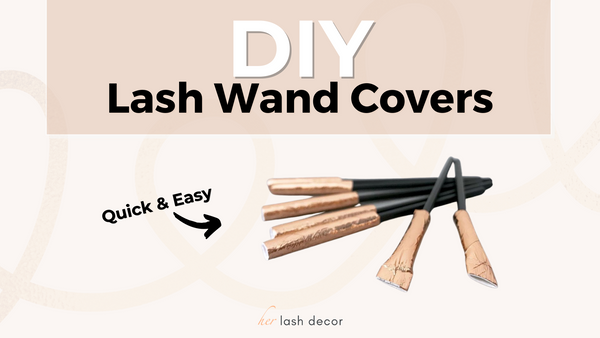 lash wand covers