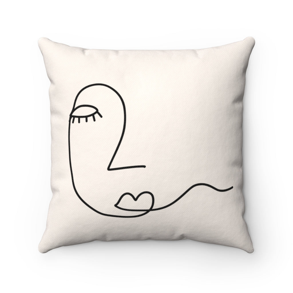 abstract lash pillow cushion