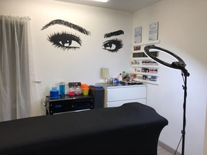 lash room wall sticker