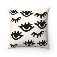 Load image into Gallery viewer, eyelash decorative pillows