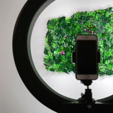 Load image into Gallery viewer, salon flower wall selfie