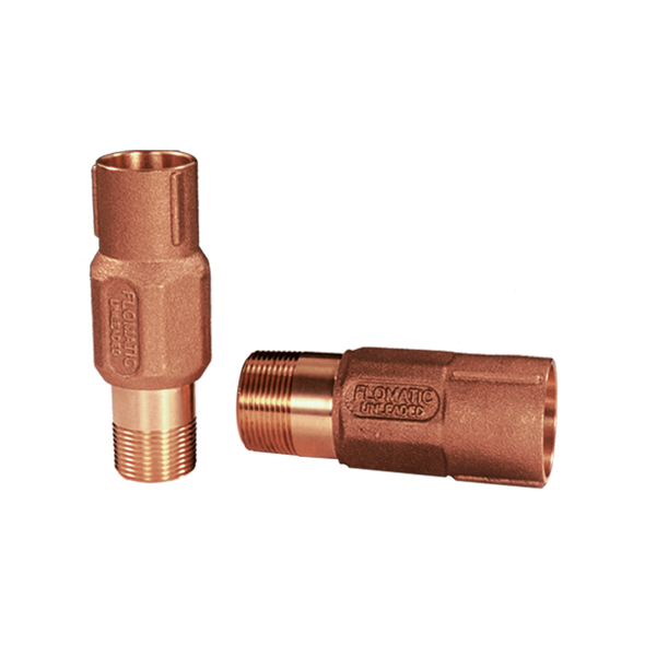 Brass M x F Extra Long Check Valve