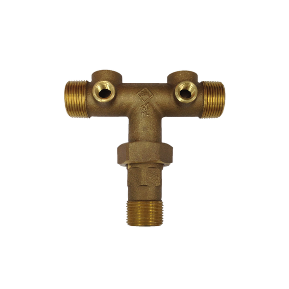 Brass Union Tank Cross