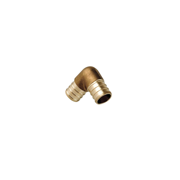 Brass PEX Crimp 90 Degree Elbow