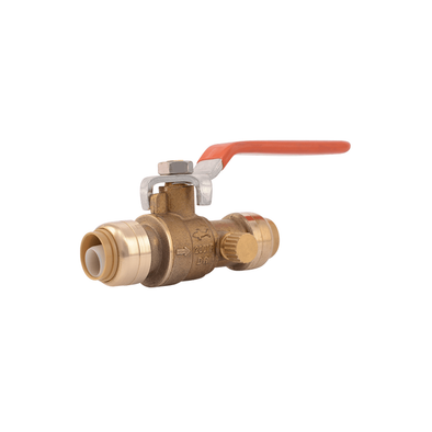 Shark Bite Ball Valve With Drain