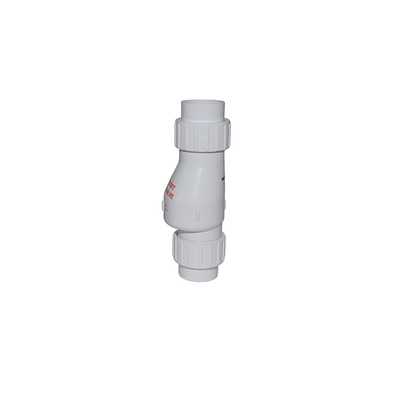 PVC Quiet Check Valve With Union