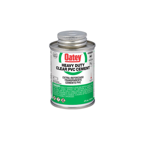 Clear Heavy Duty PVC Cement