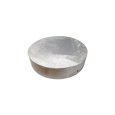 6in Aluminum Round Well Cap (No Conduit)