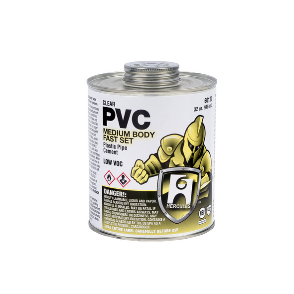 Clear Medium PVC Cement