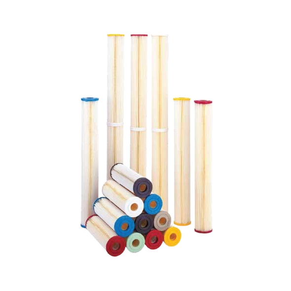2 x 10in Pleated Premium Polyester-Plus Sediment Cartridge