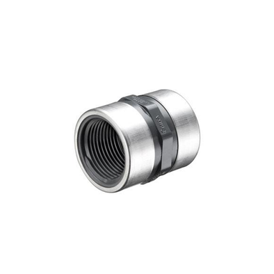 PVC Sch80 Stainless Steel Reinforced Female Coupling