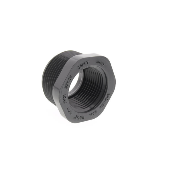 PVC Sch80 Male x Female Bushing