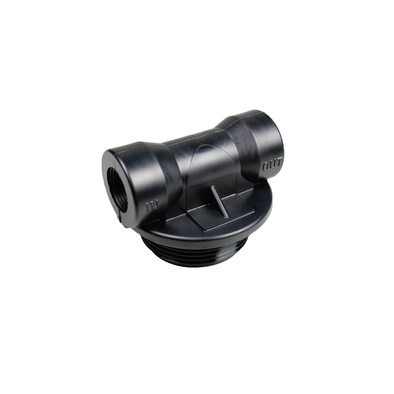 3/4in Composite Upflow Straight Adapter Head For Media Tank