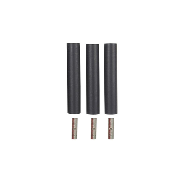 3 Wire Black Heat Shrink Splice Kit