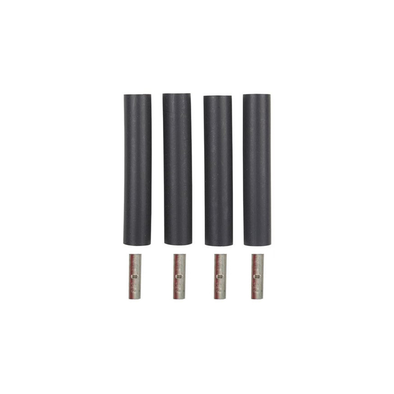 4 Wire Black Heat Shrink Splice Kit