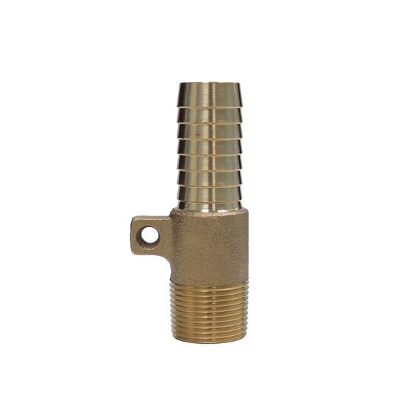 Brass Male x Insert Rope Adapter