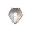 6in Aluminum Low Profile Watertight Well Cap