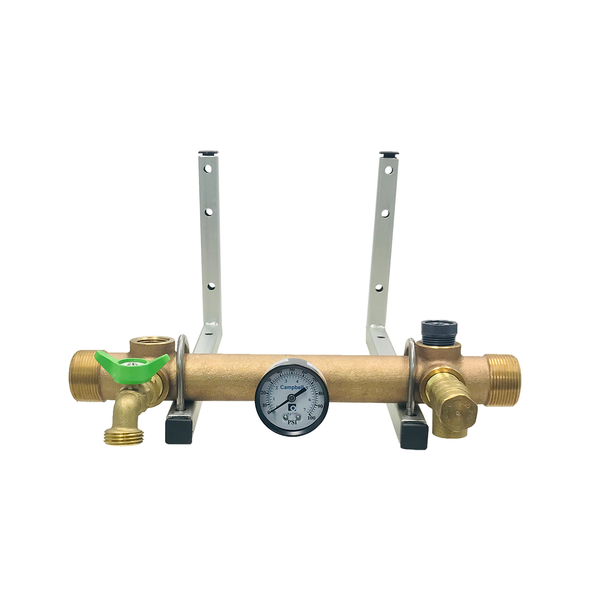 Brass Constant Pressure Manifold Package For Grundfos Residential Systems