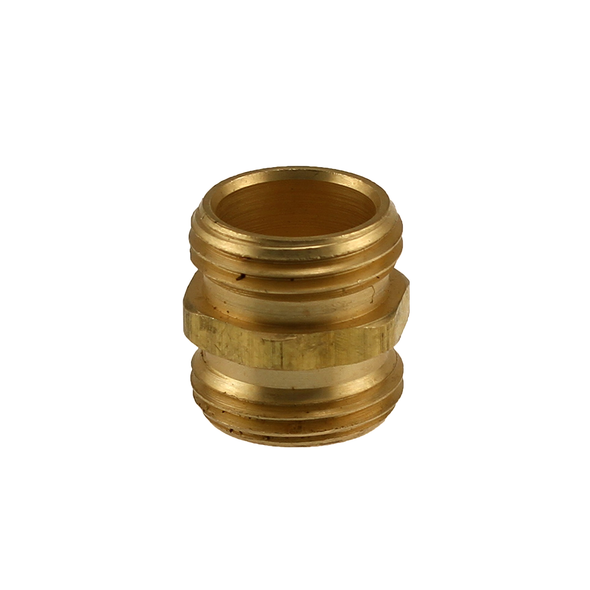 Brass Male Hose x Male Hose Coupling