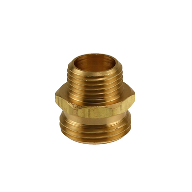 Brass Male Hose x Male Pipe Coupling