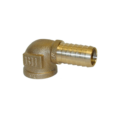 Brass Female x Insert Elbow