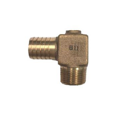 Brass Male x Insert Hydrant Elbow