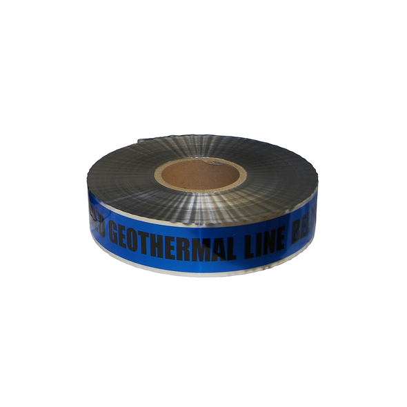 Caution Detection Geothermal Tape